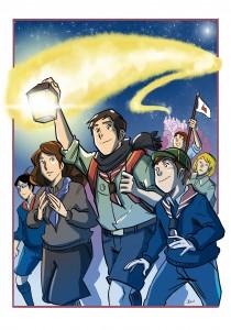 luce della pace scout